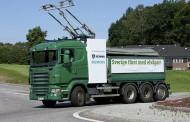 המשאית החשמלית בדרך