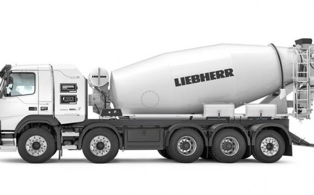 Liebherr: מערבל בטון חשמלי