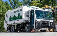 מאק מתחילה ביצור סדרתי של משאית אשפה חשמלית