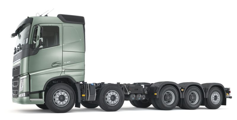 עדכני וולוו: מעתה גם 5 סרנים | חדשות משאיות, מסחריות וטנדרים DQ-35