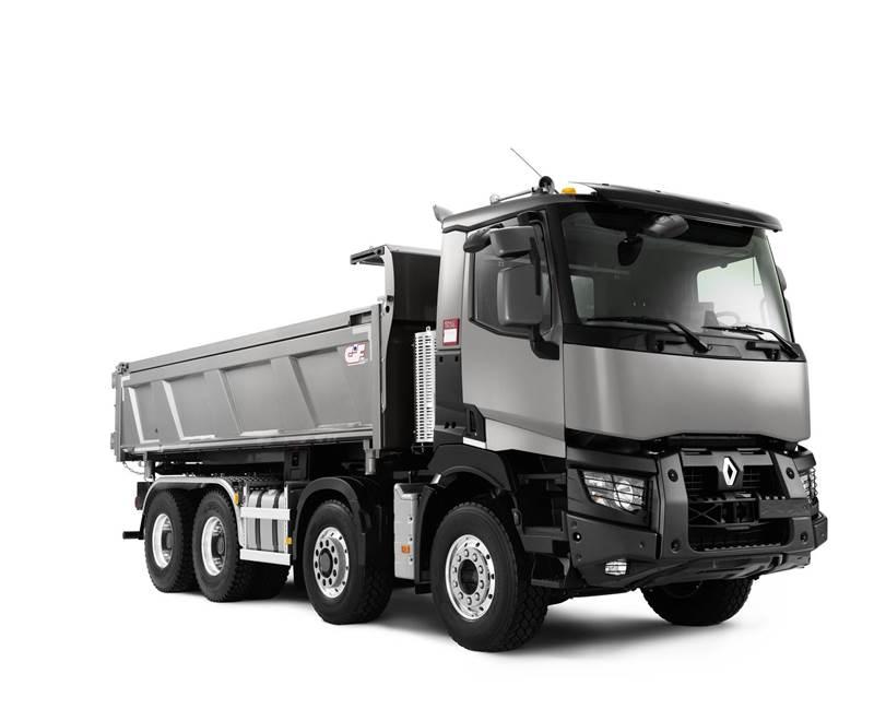 משאית רנו C 440 8x4 Optitrack