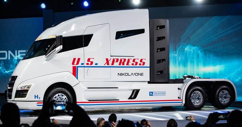 משאית חשמלית Nikola One