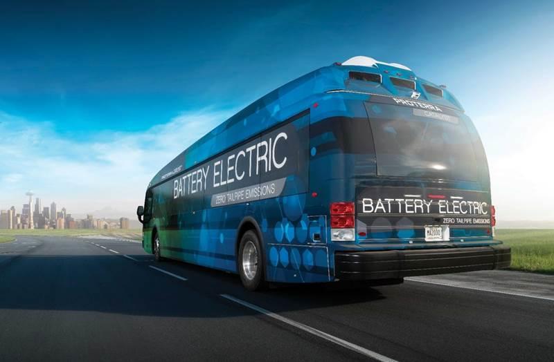 אוטובוס חשמלי אוטונומי Proterra Catalyst E2