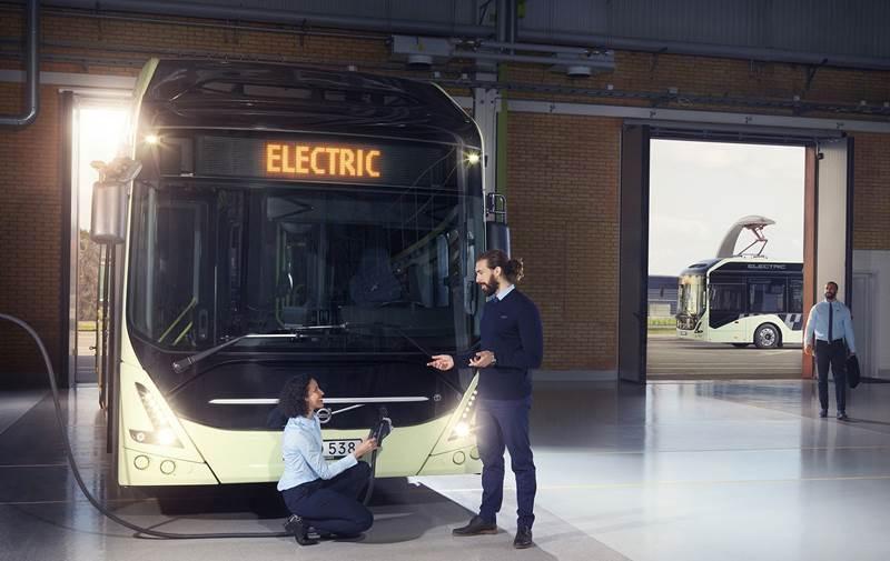 אוטובוס חשמלי וולוו 7900 Electric