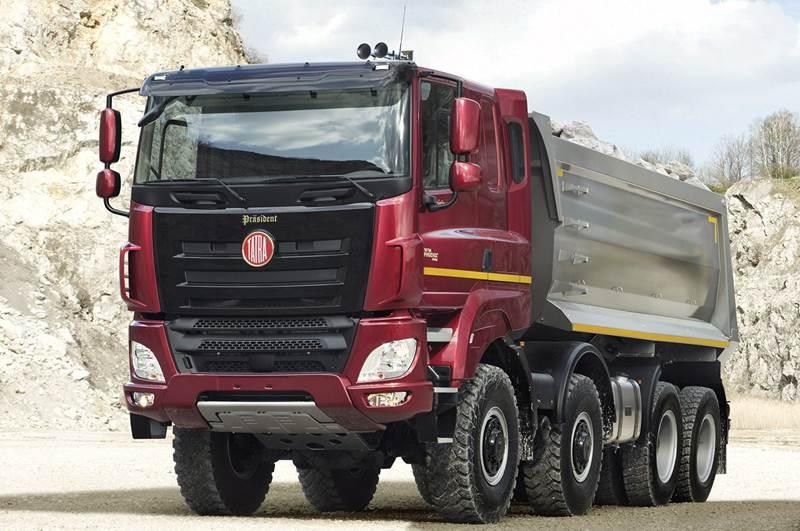 הוראות חדשות טטרה Pheonix חדשה! (וידאו)   חדשות משאיות, מסחריות וטנדרים GC-03