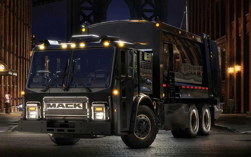 משאית מאק BEV