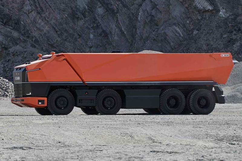 משאית אוטונומית נסיונית סקניה AXL