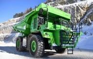 משאית מכרות חשמלית – לייצור